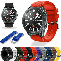 US Silicone Bracelet Strap Replacement Watch Band For Samsung Galaxy Watch 46mm