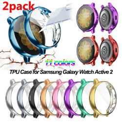 Kyпить 2 TPU Full Cover Case Screen Protector For Samsung Galaxy Watch Active 2 40/44mm на еВаy.соm
