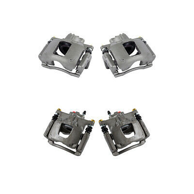For 2008 2009 2010 2011 2012 DODGE NITRO JEEP LIBERTY Front+Rear Brake Calipers