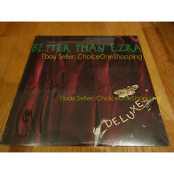 Kyпить AUTOGRAPHED SIGNED New Sealed BETTER THAN EZRA Deluxe Vinyl LP Kevin Griffin на еВаy.соm