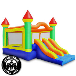 22'x15' Commercial Mega Slide Bounce House - 100% PVC Bouncer - Inflatable Only