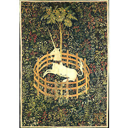Kyпить Hunt of the Unicorn (Captivity) French Wall Tapestry 24