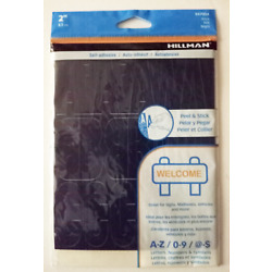 Self Adhesive Die-Cut Vinyl Numbers and Letters Stickers Black 2-in Sign Mailbox