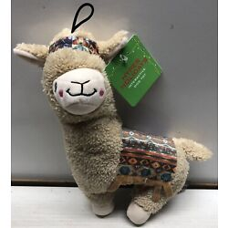 Plush Pet/Dog Toy Llama Interactive Squeak Hyper Holidays Very Cute New With Tag