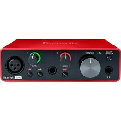 Kyпить Focusrite Scarlett Solo USB Audio Interface (Gen 3) на еВаy.соm
