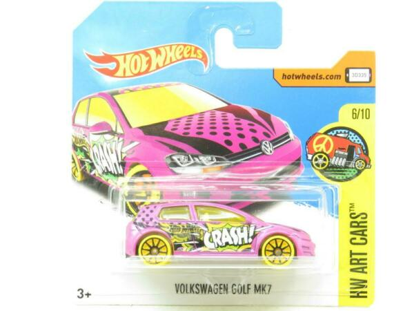 Royaume-Uni Volkswagen Golf MK7 Art de HW 111/365 Court Carte 1 64 Echelle