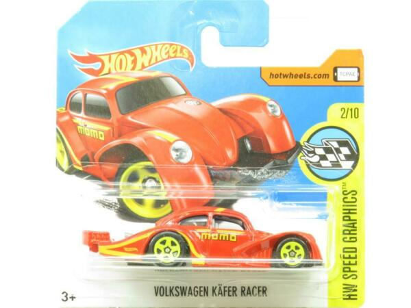 Royaume-Uni Volkswagen Kafer Racer Rouge 56/365 Court Carte 1 64 Scale Scellé New