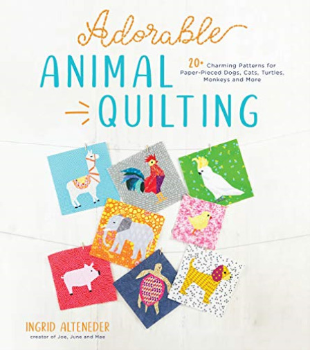GroßbritannienAlteneder Ingrid- Animal Quilting BOOK NEU
