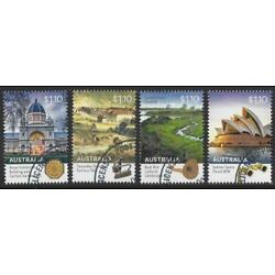 Kyпить AUSTRALIA 2020 WORLD HERITAGE SITES SET OF 4 FINE USED на еВаy.соm