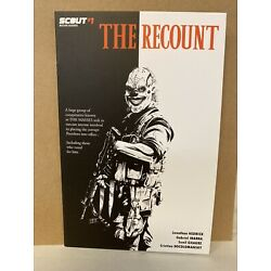 Kyпить The Recount #1 Silverbax Incentive Homage Scarface Cover Hedrick  Scout Comic на еВаy.соm