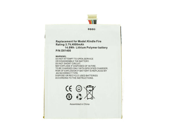 AllemagnePowerSmart Batterie Pour Amazon Kindle Fire E3GU111L2002