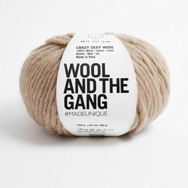 Royaume-UniWATG Wool And The Gang Fou Sexy Laine 200g 80m 79.6m - Sauvage Champignon