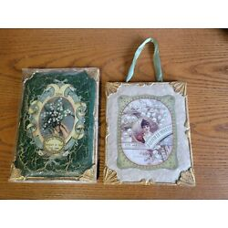 Kyпить Katherine's Collection 2pc Wood Wall Art Perfume Plaques Eau De Toilette  на еВаy.соm