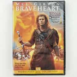 Braveheart Widescreen Collection DVD New Sealed Starring And Directed Mel Gibson