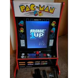 Kyпить Barely Used Arcade1up Pac-man Partycade with Dig Dug, Galaga, Galaxian and More! на еВаy.соm