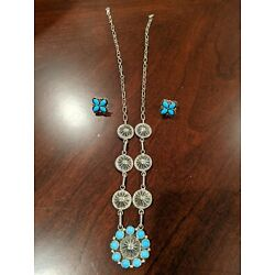 Kyпить Chaco Canyon Sterling Silver and Sleeping Beauty Jewelry на еВаy.соm
