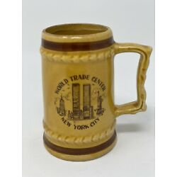 Kyпить Vintage NYC Mini Beer Stein Mug World Trade Center Twin Towers на еВаy.соm