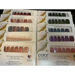 Kyпить Color Street Nail Strips - FREE SHIPPING - VALENTINE, RETIRED, Select a style на еВаy.соm