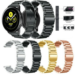 Stainless Steel Band Strap For Samsung Galaxy Watch Active 2 44 watch 3 41/45mm