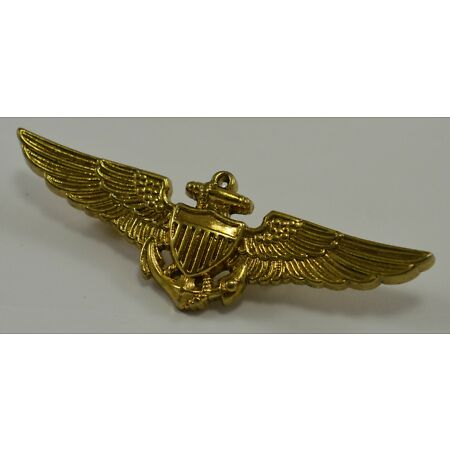 img-World War 2 USA Navy Pilot Wings Marine Core USMC - Aviator/WW2/Pin/Badge/Medal