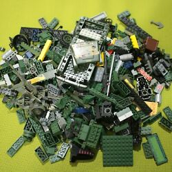 Kyпить Green Mega Bloks Lot Specialty Pieces Mixed Bricks Jeep Guns Black Wheels на еВаy.соm