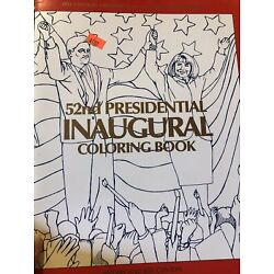 1993 Clinton-Gore 52nd Presidential Inaugural Coloring Book