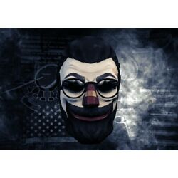 Kyпить PAYDAY 2 The Almir Mask Steam Key Zag Toys Backpack Hangers Mask Mystery Pack на еВаy.соm