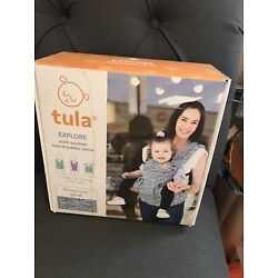 Kyпить NIB Tula Baby Explore Carrier Waves Splash Blue White на еВаy.соm