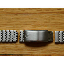 Omega Watch Band Bracelet 18mm 18 mm Seamaster Geneve for Parts Repair