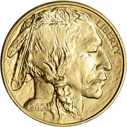 Kyпить 2021 American Gold Buffalo 1 oz $50 - BU на еВаy.соm