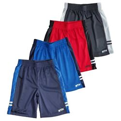 Kyпить Shorts Boys Athletic Regular Fit Active Mesh 4 Pack Lot Size 8 10/12 14/16 Navy на еВаy.соm