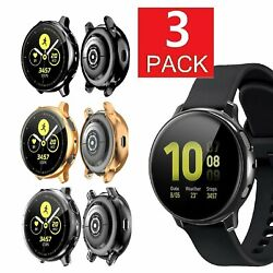 Kyпить 3 Pack For Galaxy Watch Active 2 40mm/44mm Screen Protector Case Cover Bumper на еВаy.соm