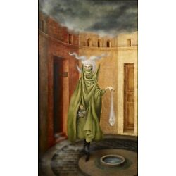 REMEDIOS VARO Poster or Canvas Print ''Woman Leaving the Psychoanalyst''
