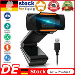 Kyпить 1080P HD Webcam HD Kamera USB 2.0 Camera Mit Mikrofon für Desktop Laptop PC LZ на еВаy.соm