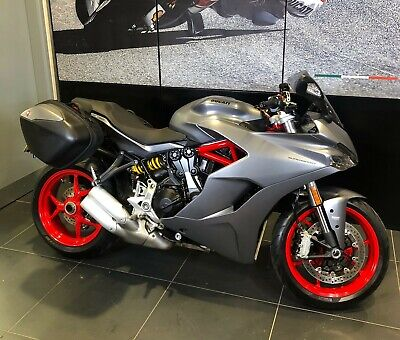 2019 Ducati SuperSport in Grey with Panniers Ducati Used Approved ex-demo
