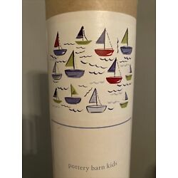 Pottery Barn Kids Sailboat Wall Decals Set Of (39) Decals New