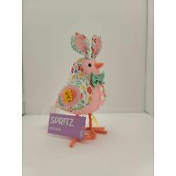Kyпить NWT RARE TARGET EASTER 2021* SPRITZ* FEATHERLY FRIENDS PATCHES FABRIC BIRD BUNNY на еВаy.соm