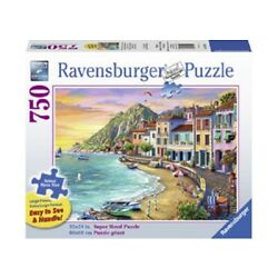 Kyпить Ravensburger 750 Piece Large Format Jigsaw Puzzle - Romantic Sunset на еВаy.соm