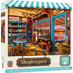 Kyпить Masterpieces 750 Piece Jigsaw Puzzle - Shopkeepers Henry's General Store на еВаy.соm
