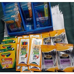 Kyпить Large Lot of Pens, Pencils and Crayola Markers на еВаy.соm
