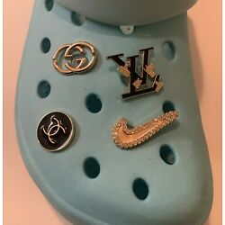 Kyпить 4 pc Premium Shoe charms Compatible W/ Crocs Fancy Bling Jewelry Gift for her! C на еВаy.соm