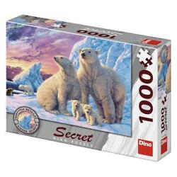 Kyпить Dino 1000 Piece Jigsaw Puzzle - Hidden Secrets: Polar Bears на еВаy.соm