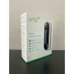 Kyпить Arlo Wired Video Doorbell - White/Black на еВаy.соm