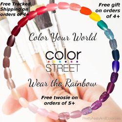 Kyпить COLOR STREET Nail Strips Retired & NEW Free Tracked Ship on 4+ Sale! на еВаy.соm