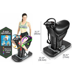 Electric Horse Riding Abdominal Exercise Machine Stomach Weight Loss Trainer