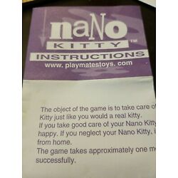 Kyпить Vintage Nano Kitty Instructions на еВаy.соm