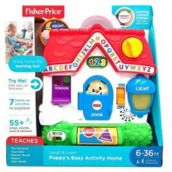 Kyпить Fisher-Price Fgw20 Fisher Price Laugh & Learn Puppy's Bust Activity, Multicolor на еВаy.соm