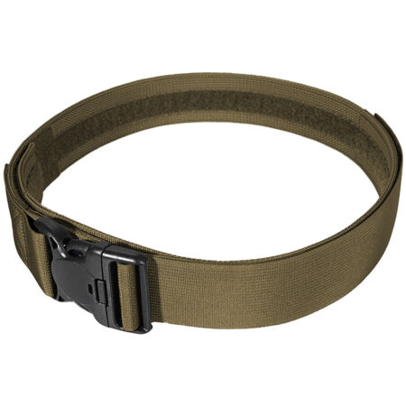 img-PATROL TACTICAL DUTY BELT with SECURITY BUCKLE AIRSOFT POLICE GUARD COYOTE BROWN