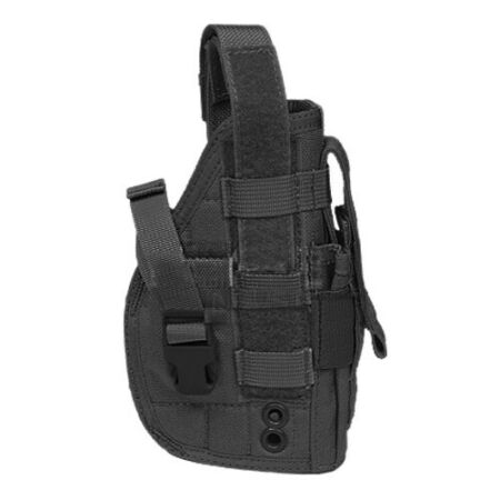 img-Flyye Tactical Pistol Holster MOLLE System Security Shooting Right Handed Black