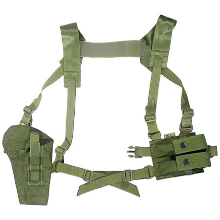 img-Flyye Industries Shoulder Holster System Panel MOLLE Airsoft Tactical Olive Drab